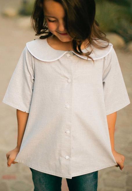 MADELINE SHIRT & DRESS PDF Sewing Pattern & Tutorial