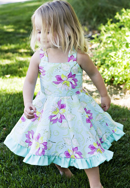 TWIRLY DRESS PDF Sewing Pattern & Tutorial