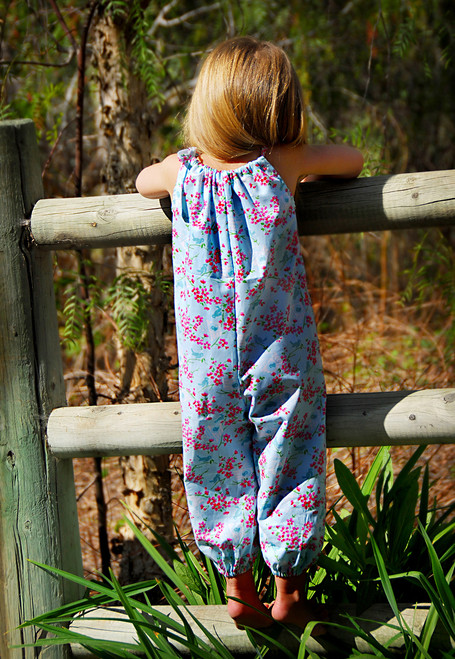 SUMMER ROMPER PDF Sewing Pattern & Tutorial