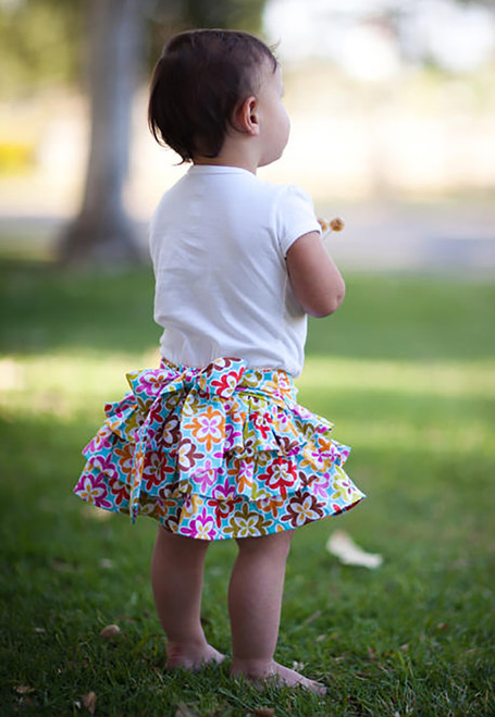 FLUTTER SKIRT PDF Sewing Pattern & Tutorial