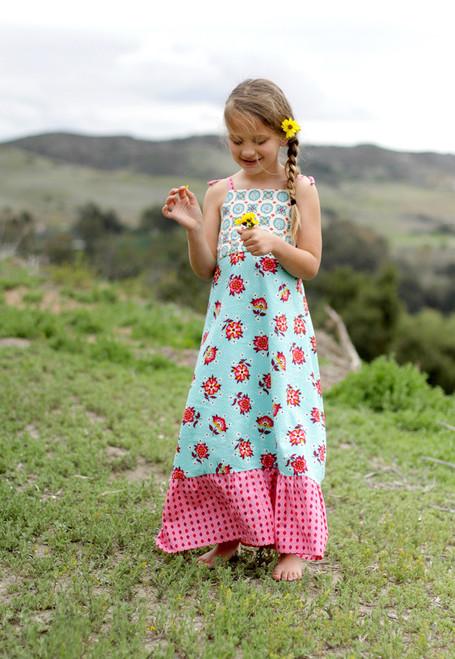HALLEY MAXI DRESS PDF Sewing Pattern & Tutorial