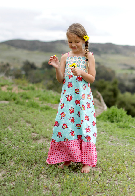 HALLEY MAXI DRESS PDF Sewing Pattern & Tutorial
