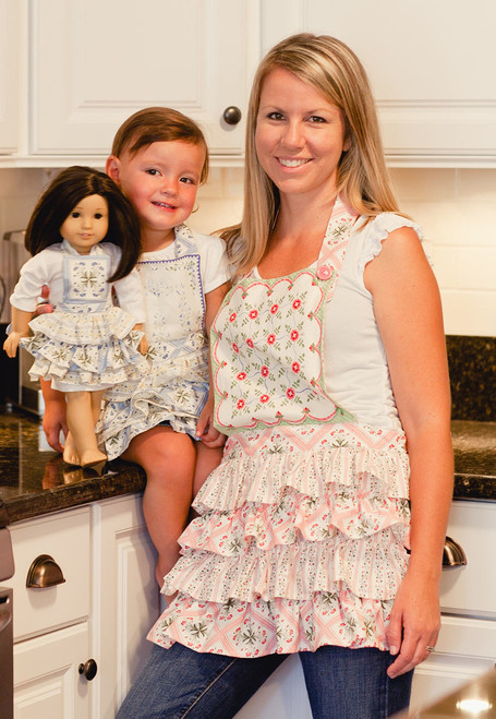 RUFFLED APRON SET PDF Sewing Pattern & Tutorial