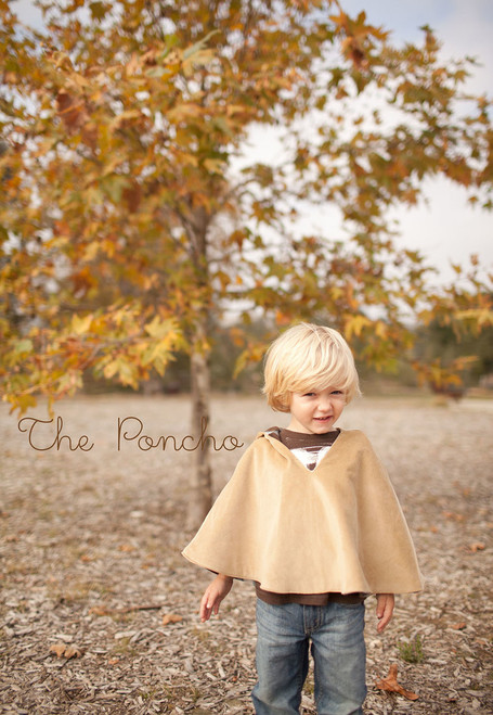 THE PONCHO PDF Sewing Pattern & Tutorial