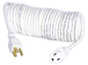 Flexy® Coiled Extension Cord Extends 7 in. to 15 ft. - 18 Gauge - 10 Amps