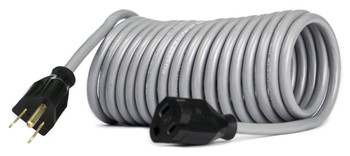 Flexy® Coiled Extension Cord Extends 20 in. to 45 ft. - 16 Gauge - 13 Amps