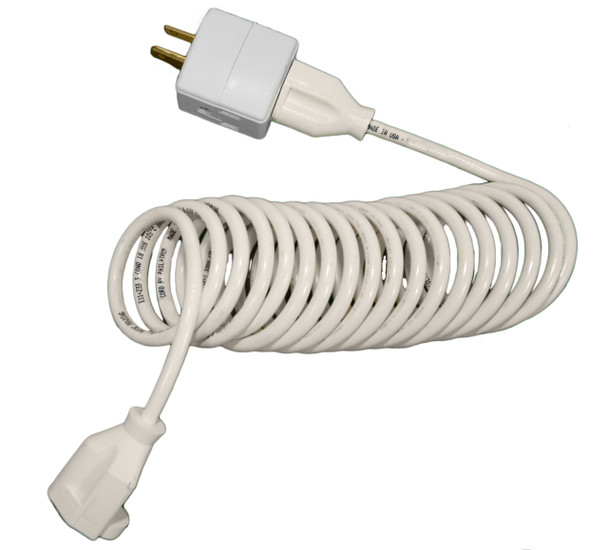 Extension Cords can be press down to fit on a suitcase or luggage.