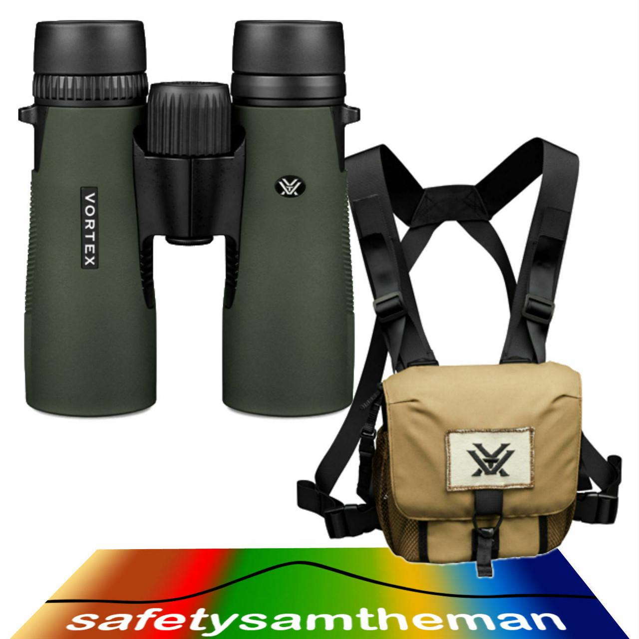 Vortex Optics New Viper HD 10x42 Binocular w// Vortex GlassPak Harness Case