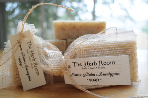 Lemon Balm & Eucalyptus Handmade Soap from The Herb Room