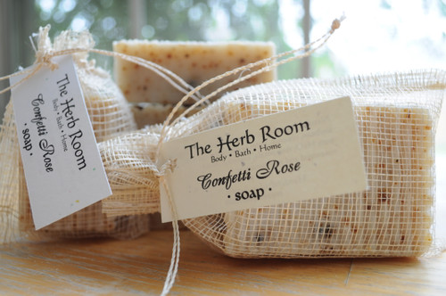 Confetti Rose Handmade Soap from The Herb Room