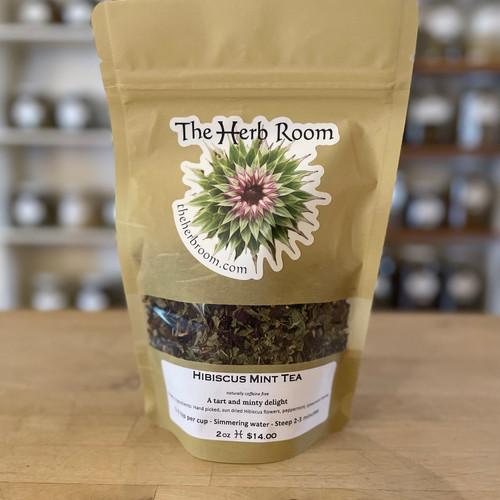 Hibiscus Mint Tea (Pkg)