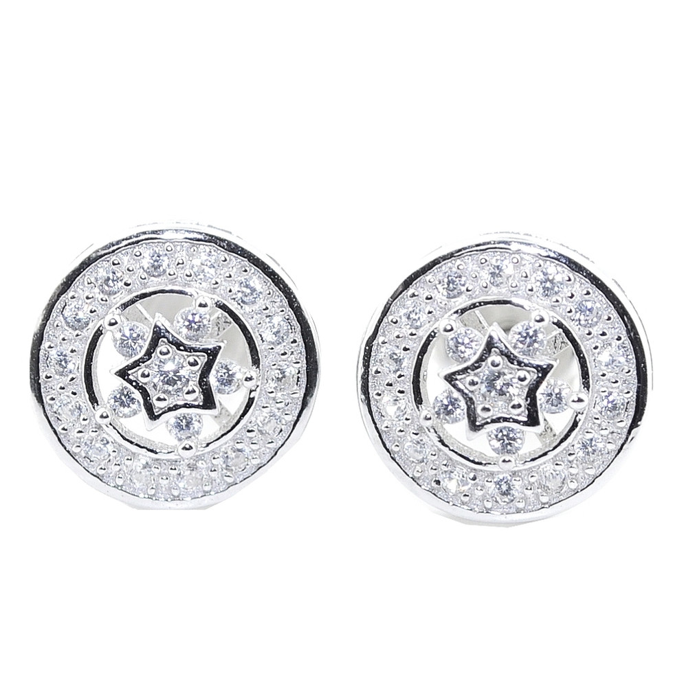 Super Star Iced Out Earrings