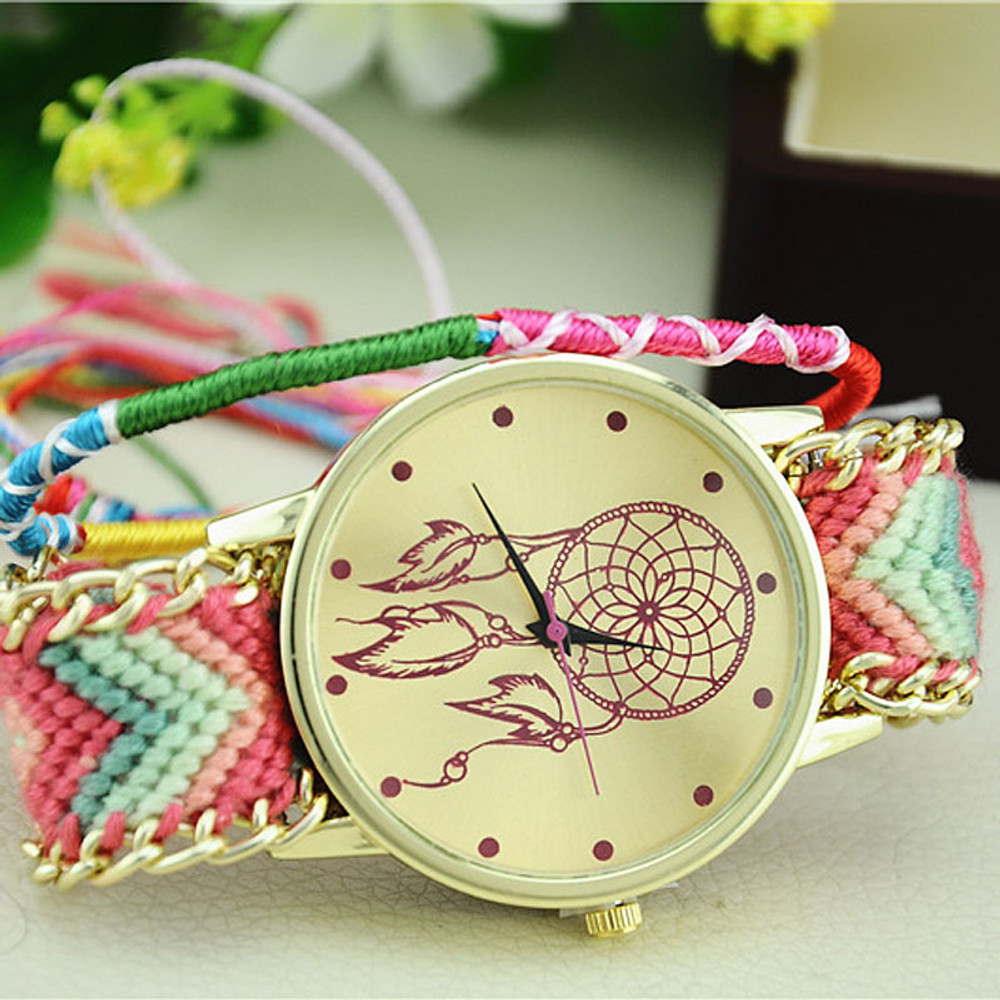 Dreamcatcher Friendship Bracelet Watch