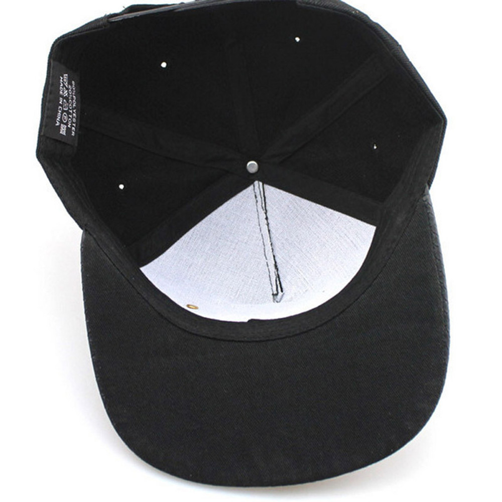 Black Dope Adjustable Snapback Hip-Hop Hat