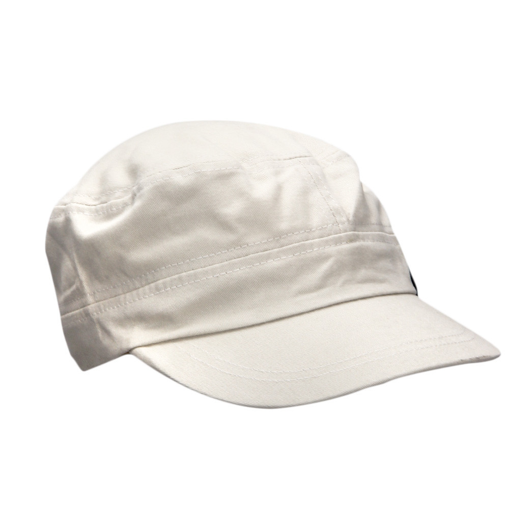 Fashion Unisex Flat Roof Cadet Style Hat Cap