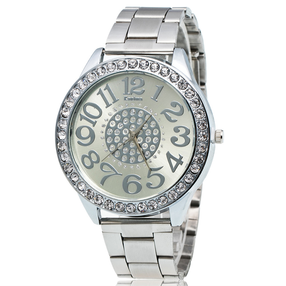 Silver Luxury Boys Watch
