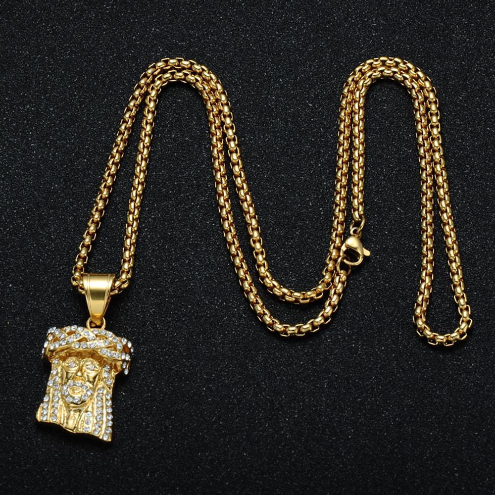 Lab Diamond Jesus Piece