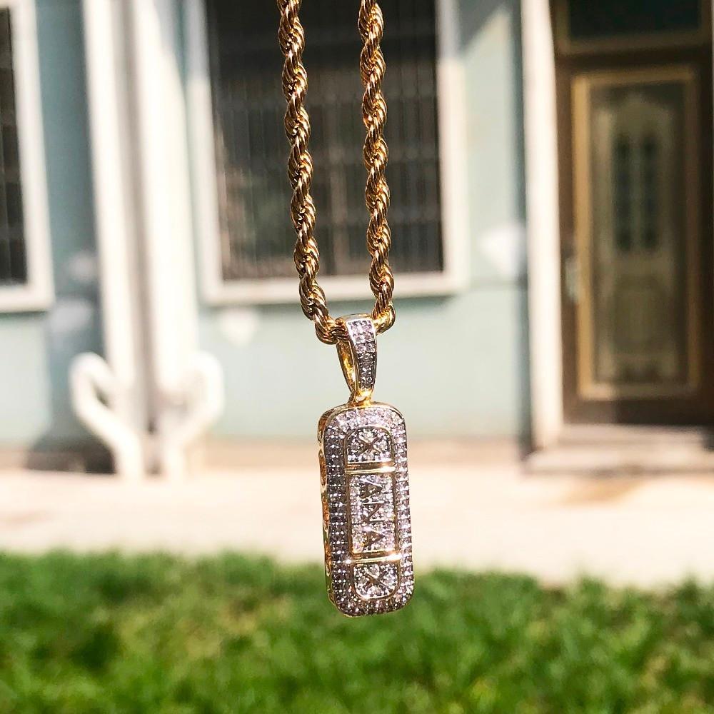 Silver Xanax Chain