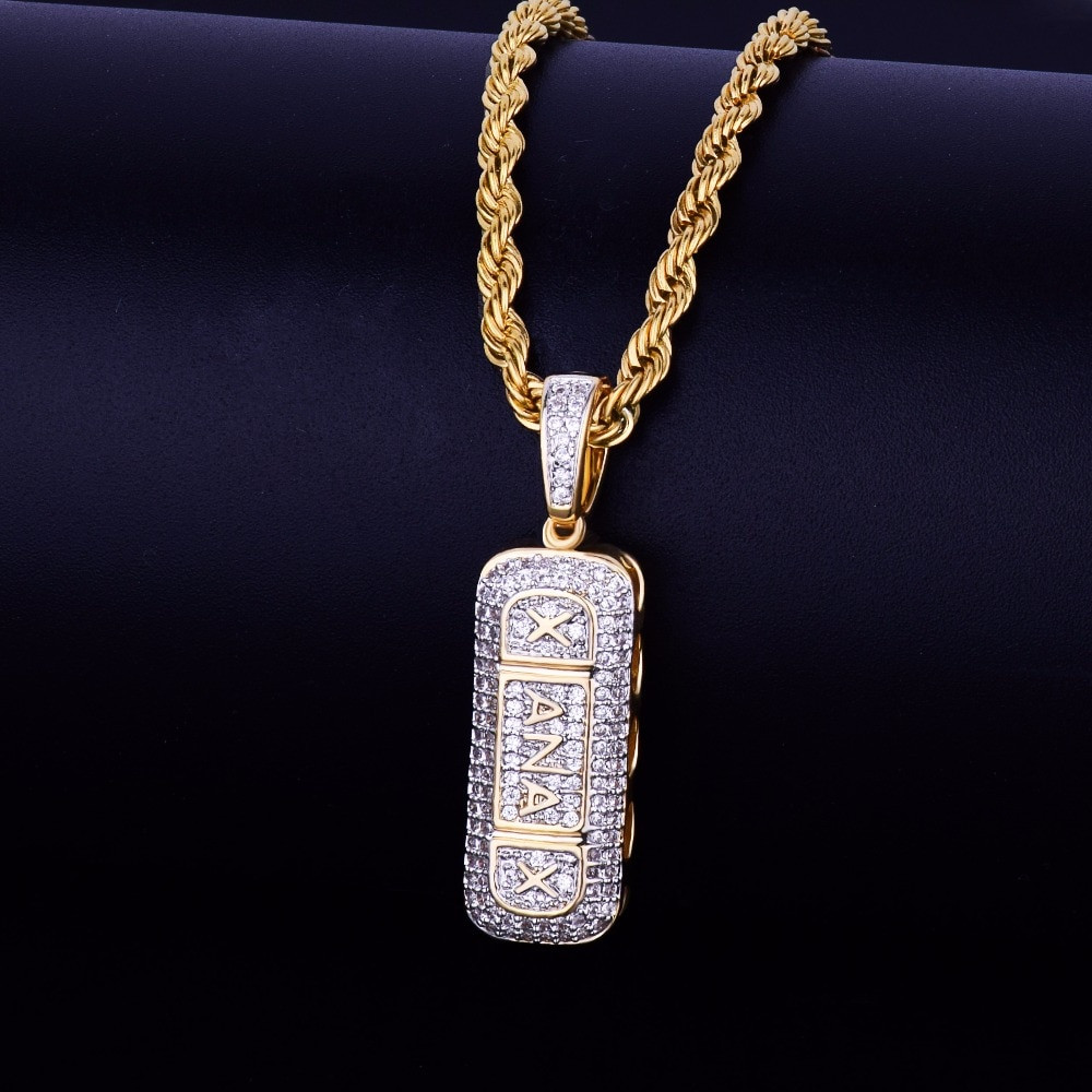 Xanax Iced Out Chain