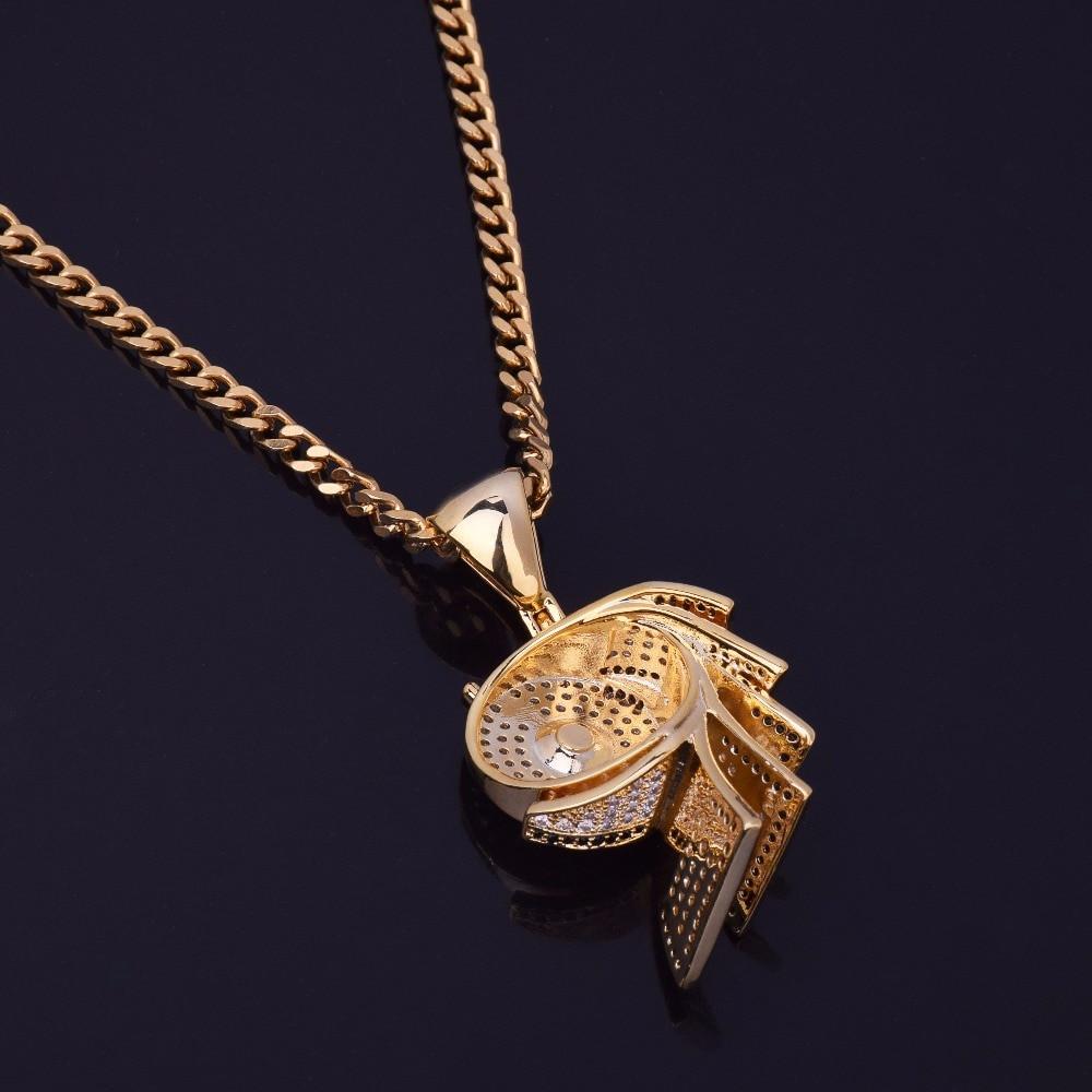14k Gold Silver Lab Diamond Money Toilet Paper Roll Pendant Chain Necklace