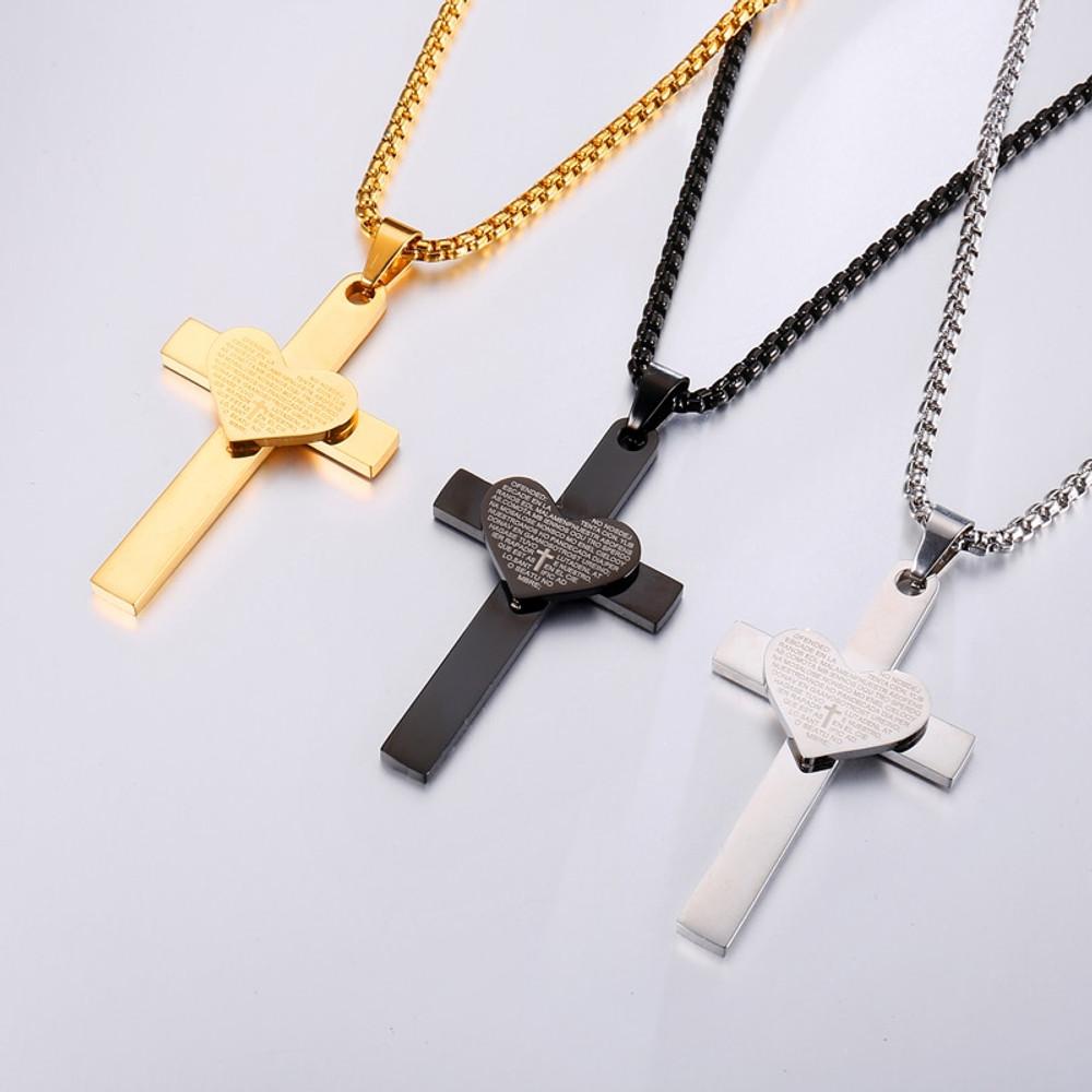 Lords Prayer Cross