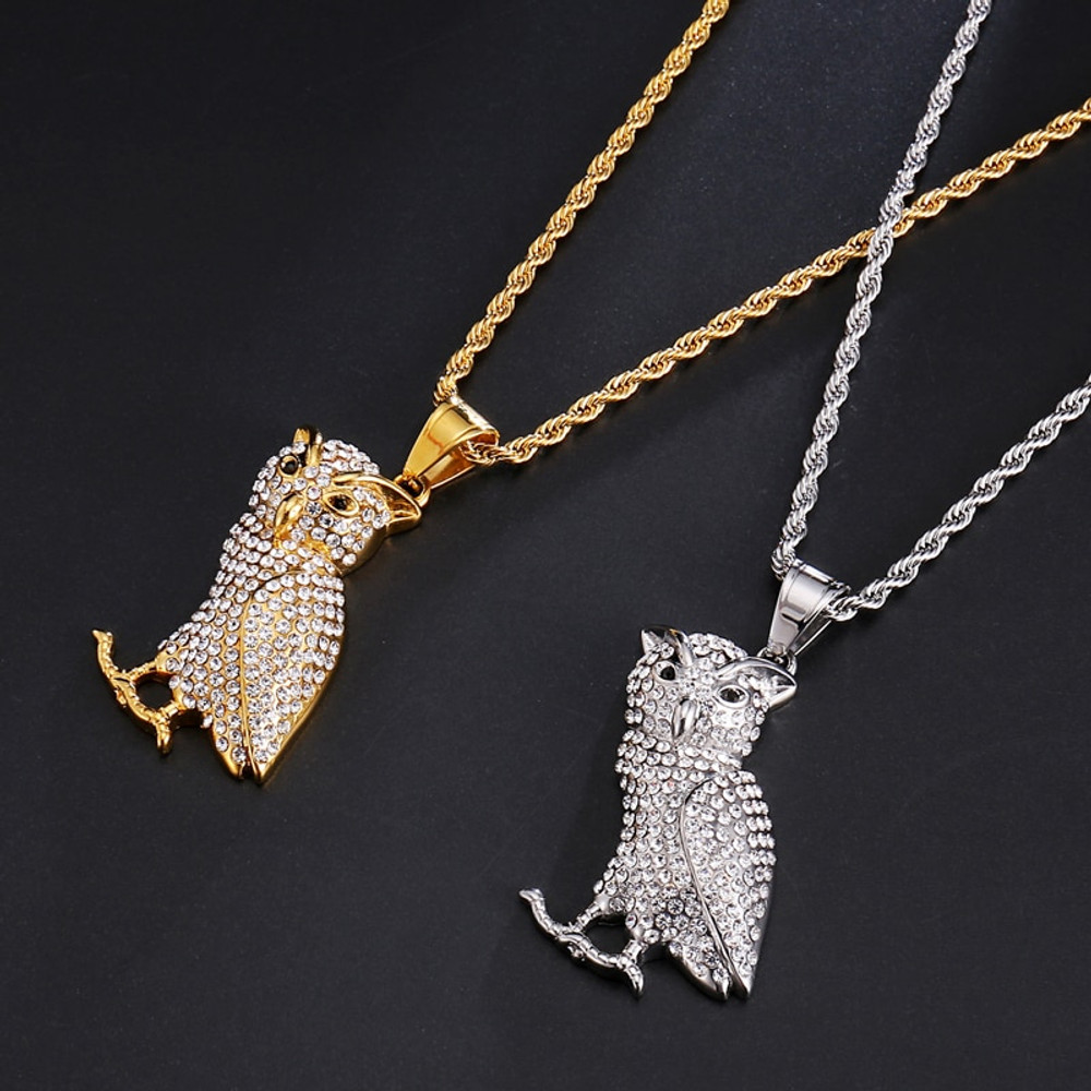 Drake OVO Owl Chain