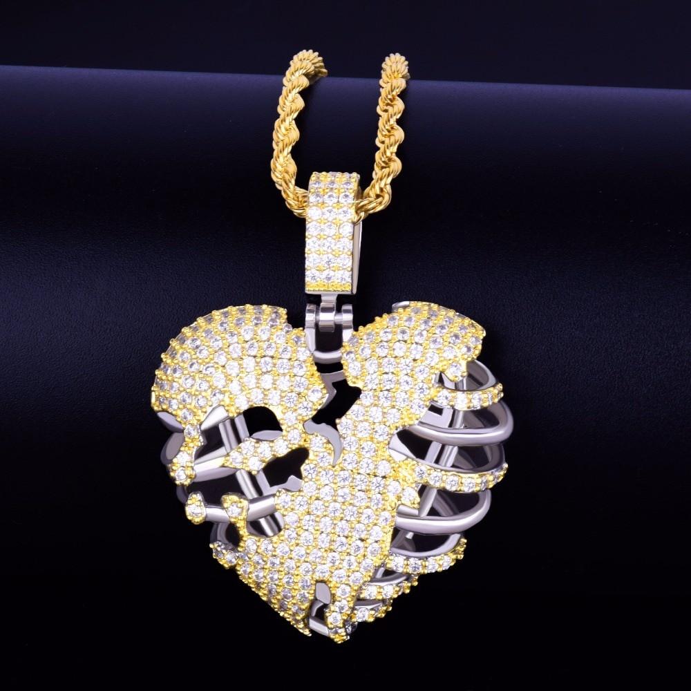 Gold 2 Hip Hop Pendant