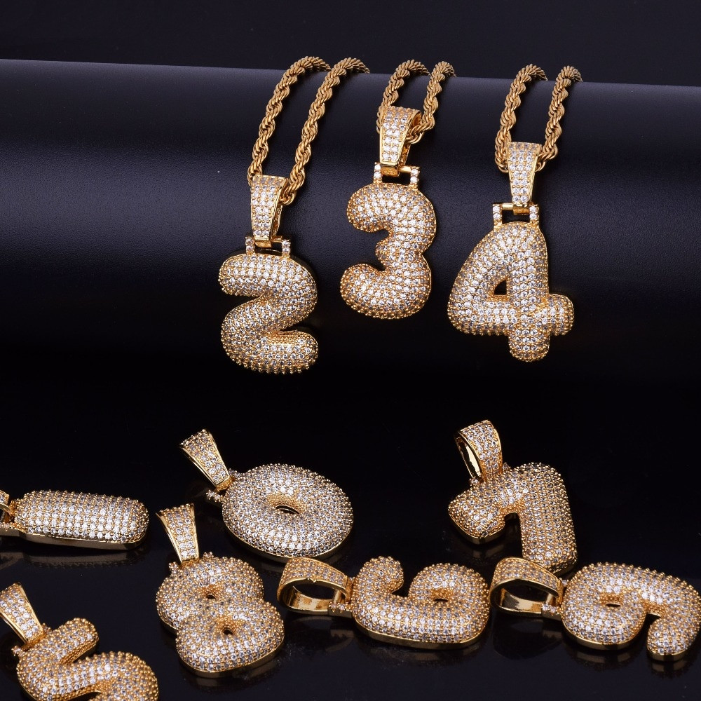 Iced Number Chains