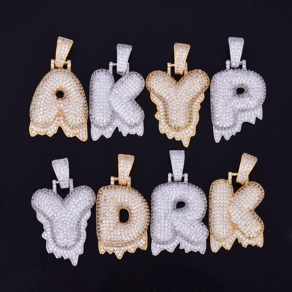 Bubble Letter Necklaces