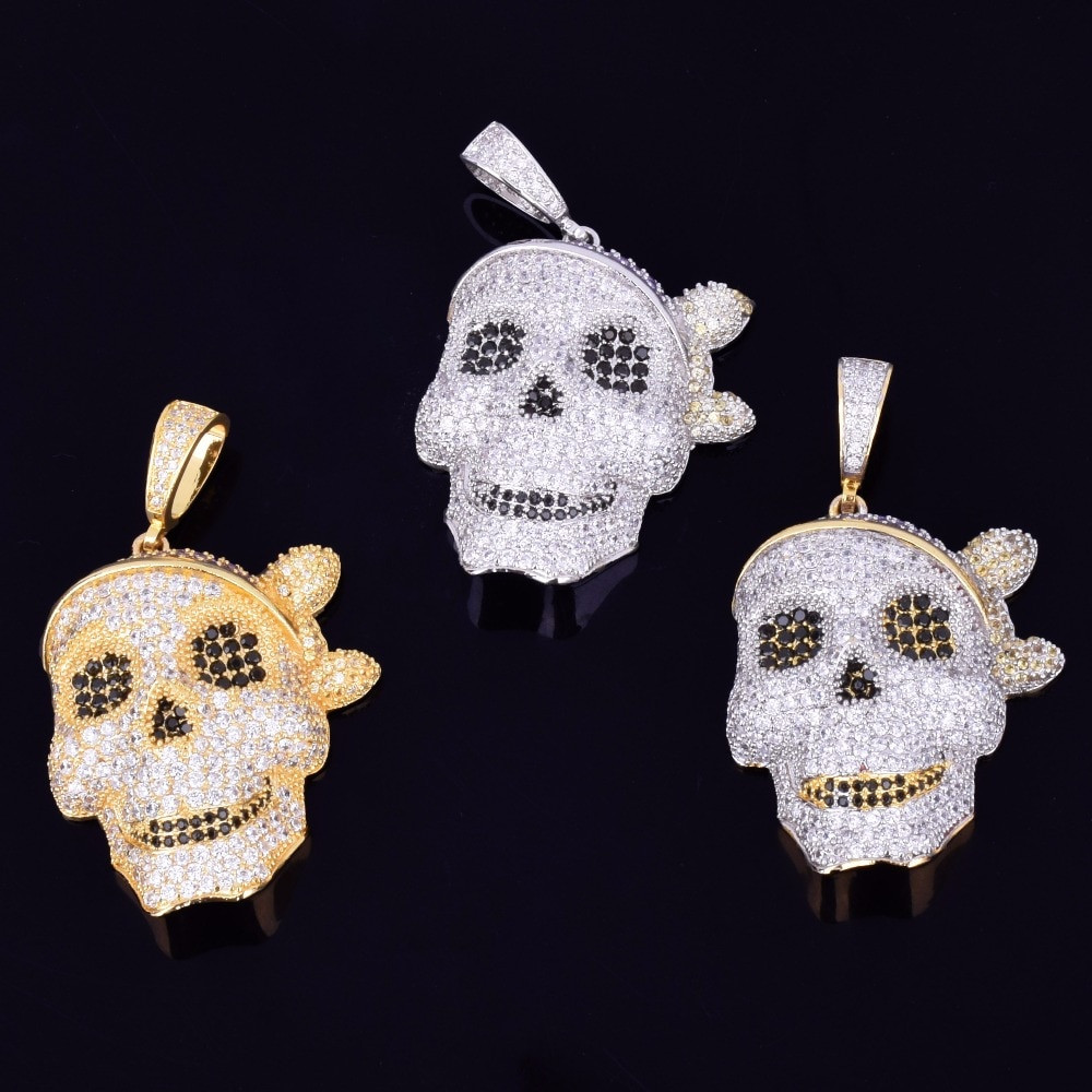 Skull Pirate Pendant
