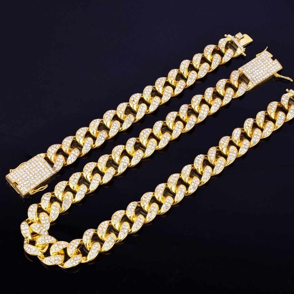 Iced Cuban Link chains
