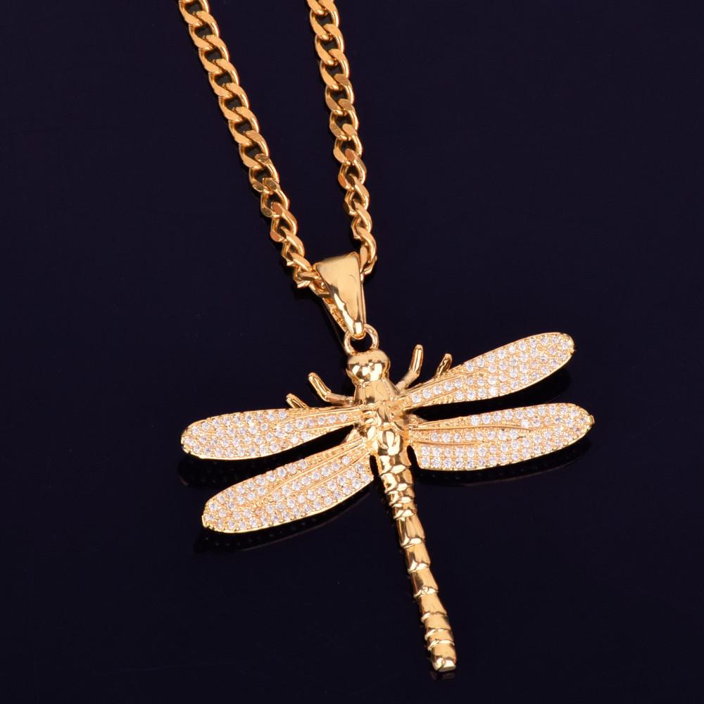 Mosquito Hawk Chain Necklae
