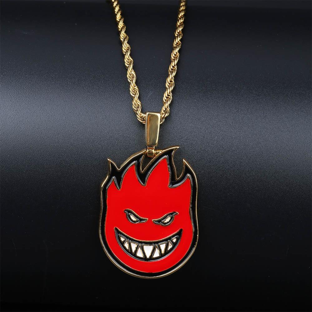 Hip Hop Fire Spitter Chain