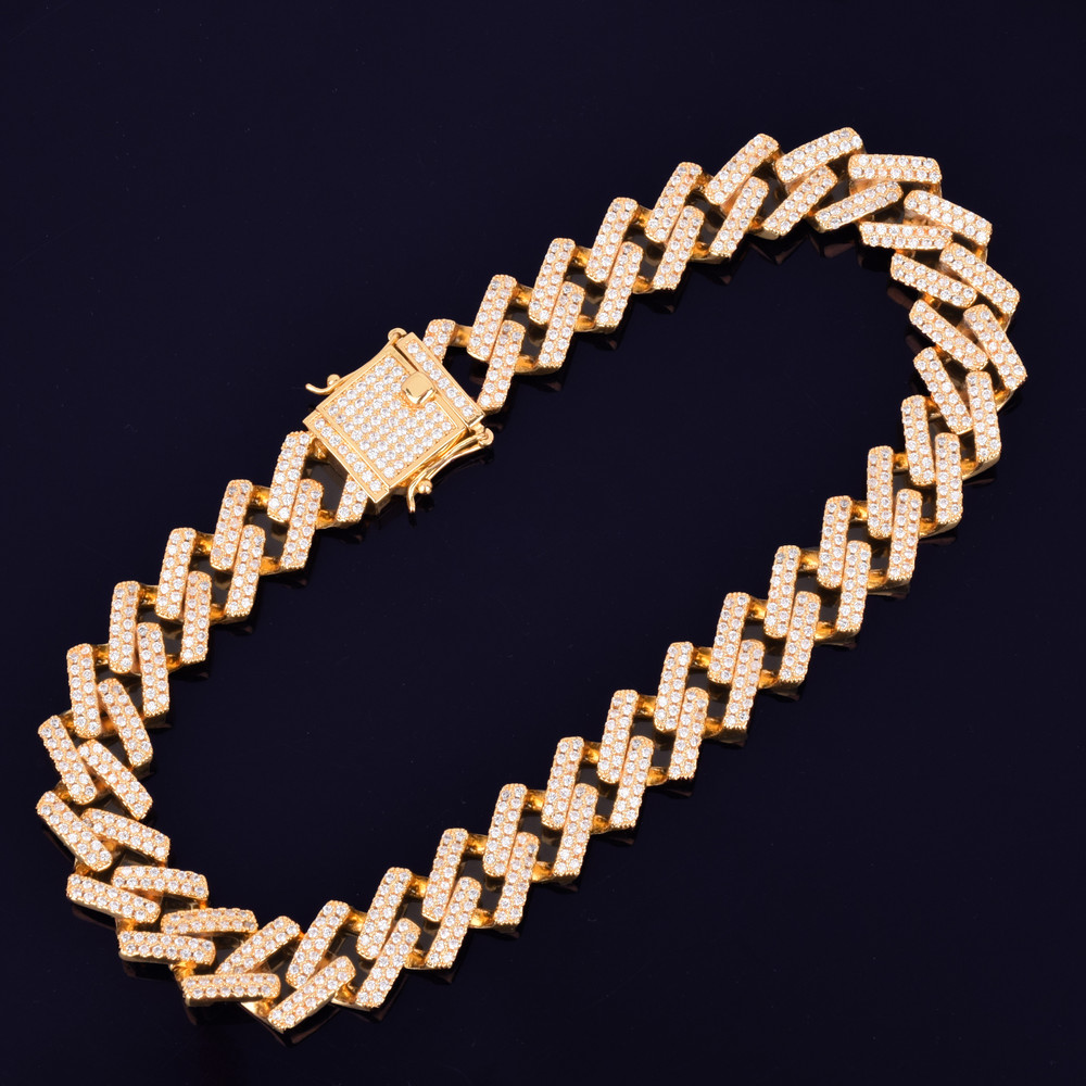 24k Gold Designer Cuban Link Necklace Chain