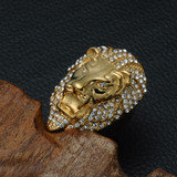 The Alpha Lion Ring