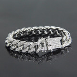 Silver Lab Diamond Bracelet