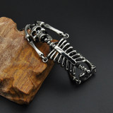 Skeleton Skull Men's Chain Bracelet