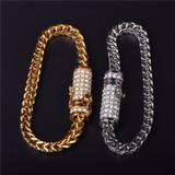 Fox Franco Link Stainless Steel Bracelet