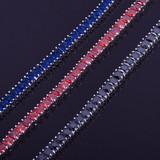 Princess Cut Tennis Chain Link Bracelet