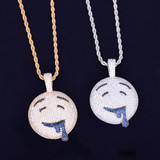 Emoji Drool Over you Pendant