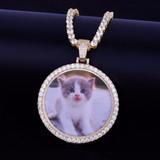 Custom Photo Medallion Chain