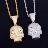 Skull Gang Hip Hop Pendant