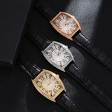 Flooded Iced Simulated Diamond Stainless Steel Quartz Dial Hip Hop Fashion Watch