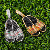 Gucci Slippers AAA Micro Pave Stone Pendant