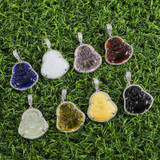 14k Gold Stainless Steel Hip Hop 8 Colors Flooded Ice Buddha Pendant Chain Necklace