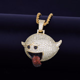 Boo Diddley Dope Hip Hop Pendant