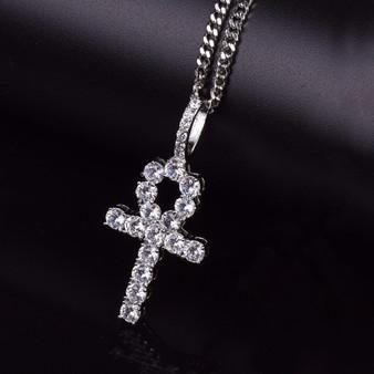 Ankh Cross Pendant Chain