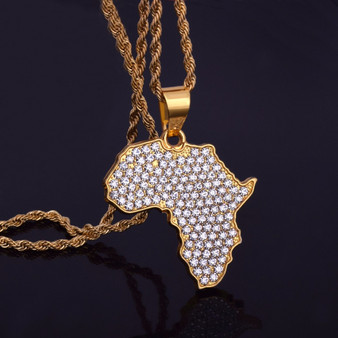 Africa Pendant Chain