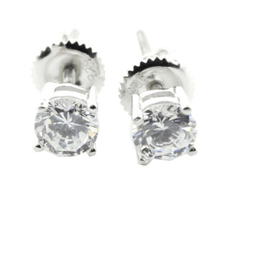 Sterling Silver Bling Earrings