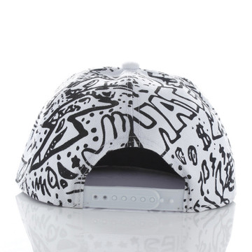 White Snapback hat
